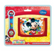 SET CON OROLOGIO MICKEY AS8613